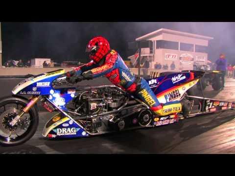 Top Fuel Nitro Motorcycle Import vs Harley Larry Spiderman Mcbride 5.83et 232mph