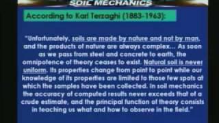 Lecture - 1 Soil Mechanics