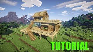 Cancello Di Legno Minecraft : Case di legno su minecraft: come fare una casa di legno su minecraft