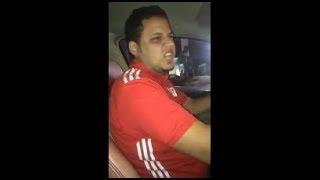 شاهد رجل يخرج عن شعوره بسبب خسارة منتخب مصر من روسيا