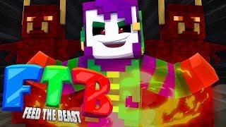 Summoning Demons!!  : Minecraft Feed the Beast!! : Ep 5