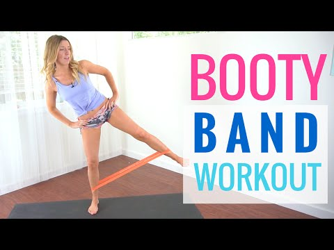 Booty Band Workout | Exercise Band Workout