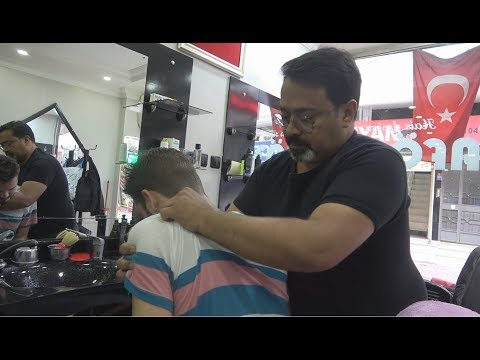 Xxx Mp4 ASMR Turkish Barber Face Head And Body Massage 154 3gp Sex