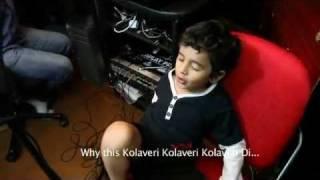 Why This Kolaveri Di ( New Child Version HD Video Song) Ft. Nevaan Nigum