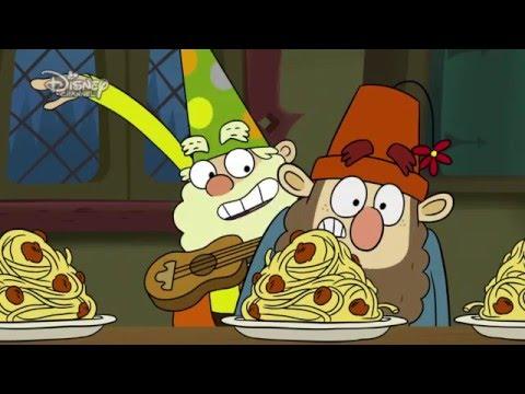 7K - Spaghetti na wynos. Oglądaj w Disney Channel!