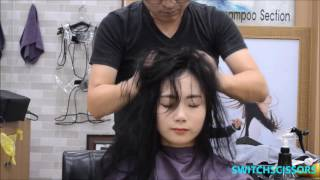 Head massage and  head spa & massage(special one for 36 min.)