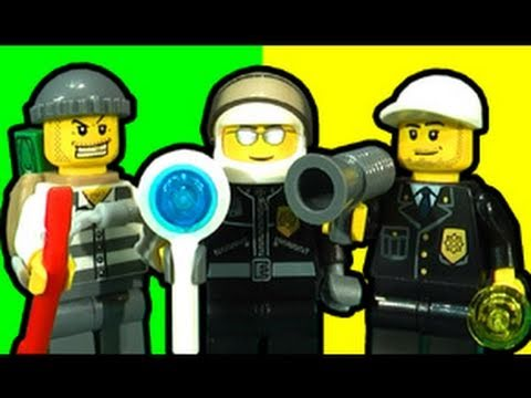 LEGO City Police Bomber Ultimate Toy Review 7279 7285 7286