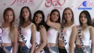 MISS TEEN MODEL INTERNACIONAL 2016 - CONFERENCIA DE PRENSA. POR: