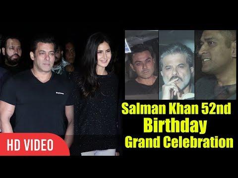 Xxx Mp4 Salman Khan 52nd Birthday Full Video Katrina Kaif M S Dhoni Mouni Roy Anil Kapoor 3gp Sex