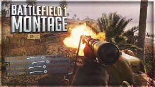 FaZe Agony: Battlefield 1 Sniper Montage