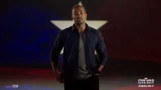 Anthony Mackie is going to Singapore! Marvel's Captain America: Civil War
