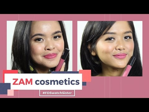 ZAM Cosmetics di Kulit Terang & Sawo Matang | FD Swatch Sister