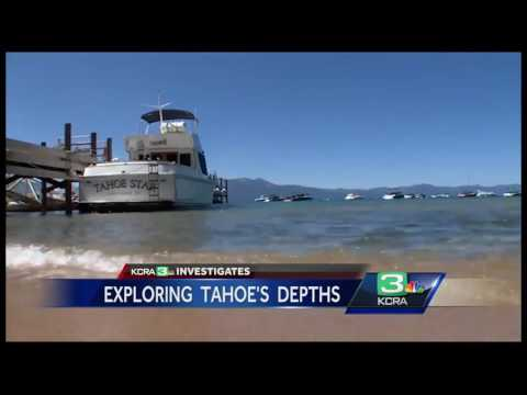 Mysterious creature spotted in depths of Lake Tahoe