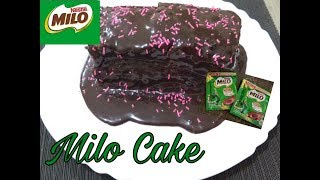 MILO CAKE | LESS THAN 50 PESOS LANG ANG BUDGET | TIPID CAKE FOR VALETINES