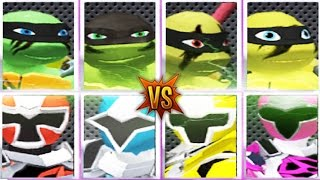 Power Ranger Ninja Steel Vs TMNT Ultimate Hero Clash 2 New Update Iron Ninja