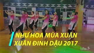 Như hoa mùa xuân | Xuân Đinh Dậu 2017 | Zumba Fitness Vietnam | Lazum3 | Nhảy Zumba