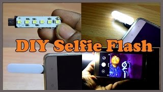 How to Make a Super Bright Selfie Flash for Mobile Phone at Home