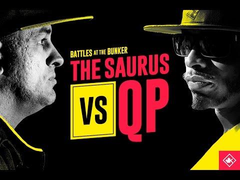 KOTD - Rap Battle - The Saurus vs QP | #BATB2