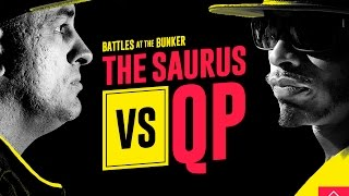 KOTD - Rap Battle - The Saurus vs QP | #BATB2
