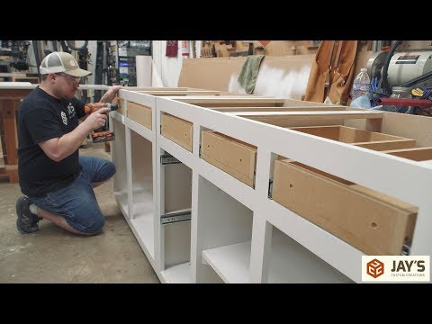 Xxx Mp4 Making DIY Budget Cabinets Office Remodel Part 2 3gp Sex