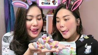 CHUBBY BUNNY CHALLENGE VERSI ADA APA DENGAN CINTA! 2016 / INDONESIA