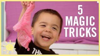 PLAY   5 Magic Tricks Kids Can DO!