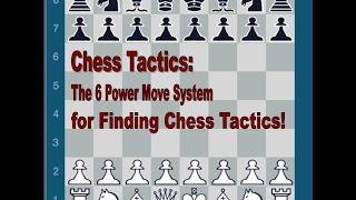 How to Find Chess Tactics with the Six Power Move System