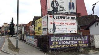 Olsztyn pięknieje? Reklamowy chaos w przestrzeni miejskiej