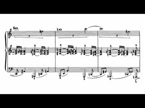 Charles Ives - Three-Page Sonata [Version B]
