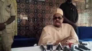 Ahmet Khalifa Niasse réitére ses propos: « Serigne Touba koune ko teukeuléle nakh nagn la »