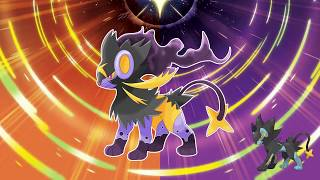 LUXRAY, POOCHYENA and MIGHTYENA with Alola form!!