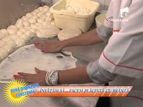 Învățăm să ... facem plăcintă cu brânză cu Nicoleta Mocanu - 26 iunie 2013