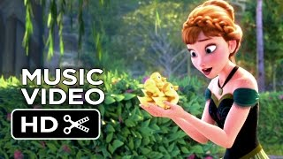 Frozen MUSIC VIDEO - For The First Time In Forever Sing A Long (2013) - Animated Disney Movie HD