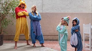 ULTIMATE ONESIE DANCE BATTLE AGAINST 4 YEAR OLDS!!!