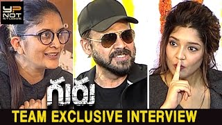 Guru Movie Team Exclusive Interview | Venkatesh | Ritika Singh | Sudha Kongara | Mumtaz Sorcar