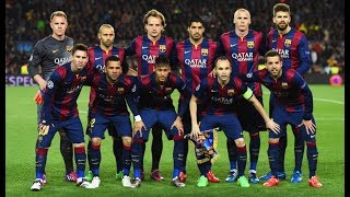 Fc Barcelona Team Messi and Friends - Puzzle Barcelona Team