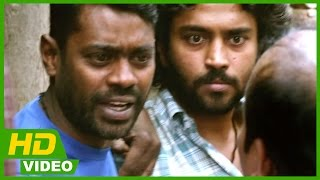 Kayal Tamil Movie - Villains asks Chandran and Vincent to reveal the couple's location