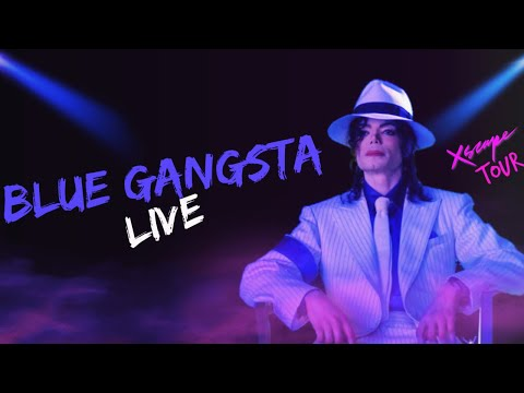 Michael Jackson - Blue Gangsta live [HD] (fanmade) Xscape Tour