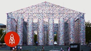Browse Germany's 'Parthenon' of Banned Books