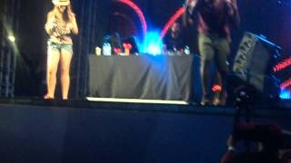 Tinie Tempah - Lollapalooza 2012, Gabriella Cordeiro singing Love Suicide