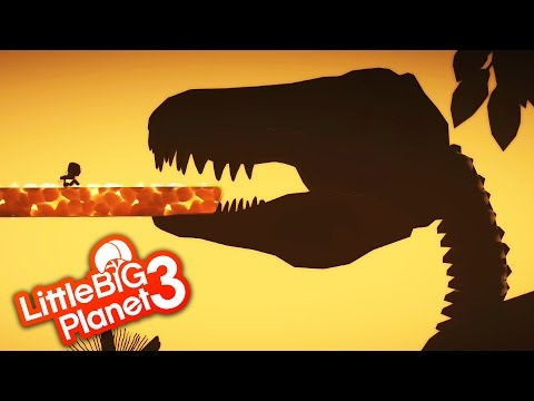 LittleBigPlanet 3 - Jurassic - With T Rex  & Other Dinosaurs