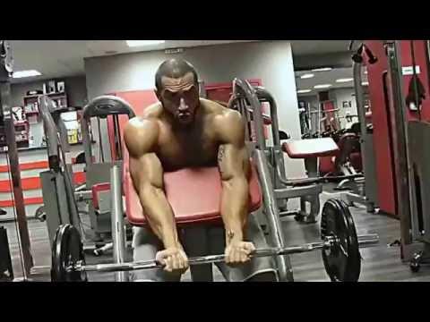 Lazar Angelov arms workout hard 2016