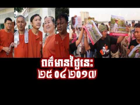 RFA Cambodia Hot News Today Khmer News Today Night 26 04 2017 Neary Khmer