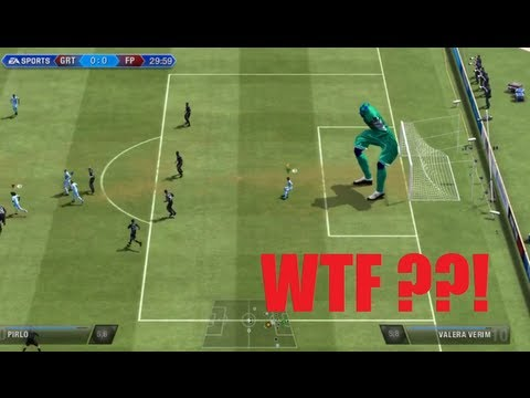 THE BIGGEST FAIL EVER IN FIFA HISTORY - 6 METER PLAYER GLITCH