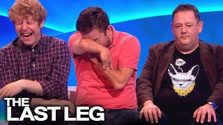 Johnny Vegas Messing With Adam, Alex & Josh  - The Last Leg (Outtakes)