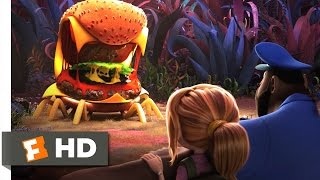 Cloudy with a Chance of Meatballs 2 - Cheese Spider Attack Scene (4/10) | Movieclips