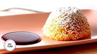 Gluten Free Warm Maple Almond Chiffon Cake - Oh Yum with Anna Olson