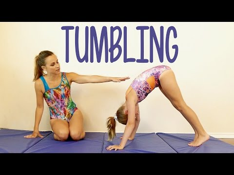 Tumbling Tutorial Gymnastics at Home Tricks Great for Kids How to Routine Exercises