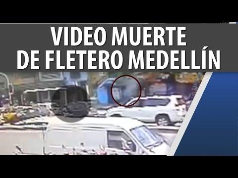 Video Registró Muerte de Fletero en la Cll 33 en Medellín Nov 14 2014 Cosmovisión Noticias