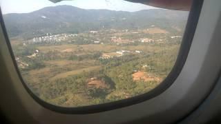 Amazing Landing at Shillong Airport..